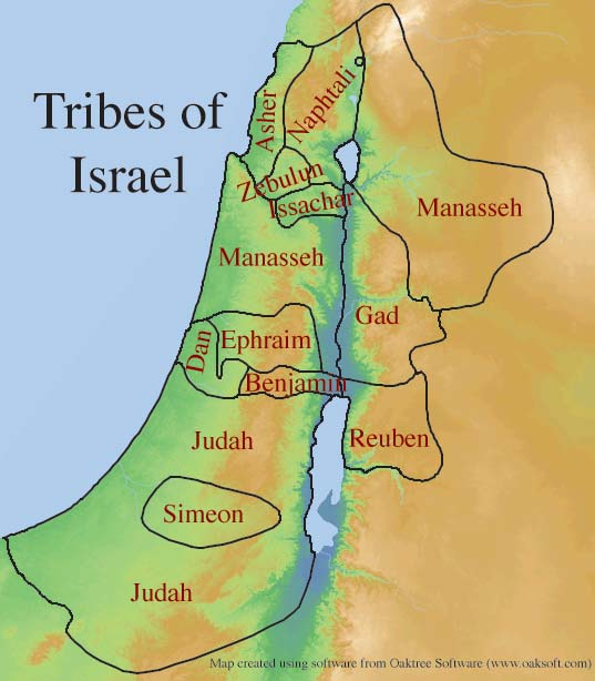 Tribes of Israel in Canaan